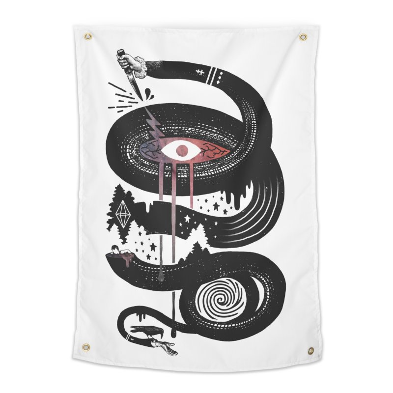 Intervolve Home Tapestry by ordinary fox
