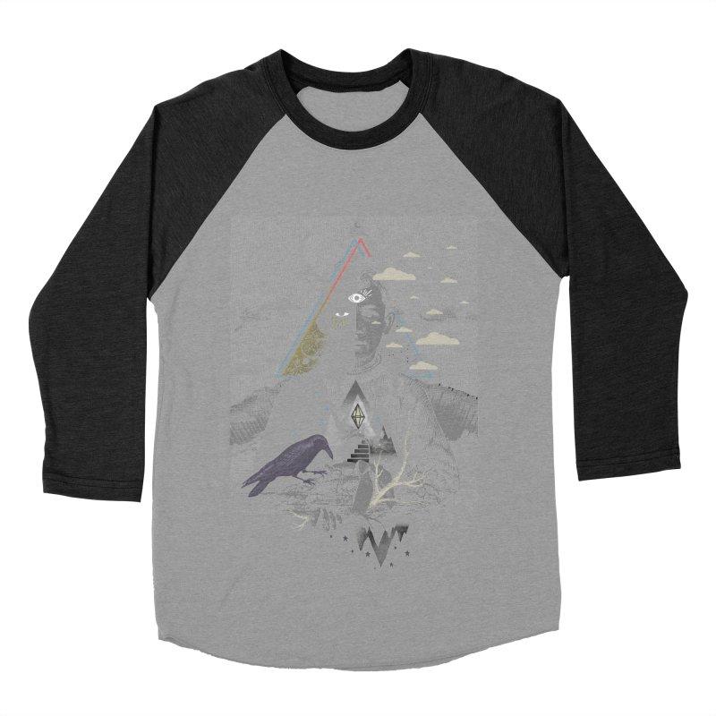 Exile Women's Baseball Triblend Longsleeve T-Shirt by ordinary fox