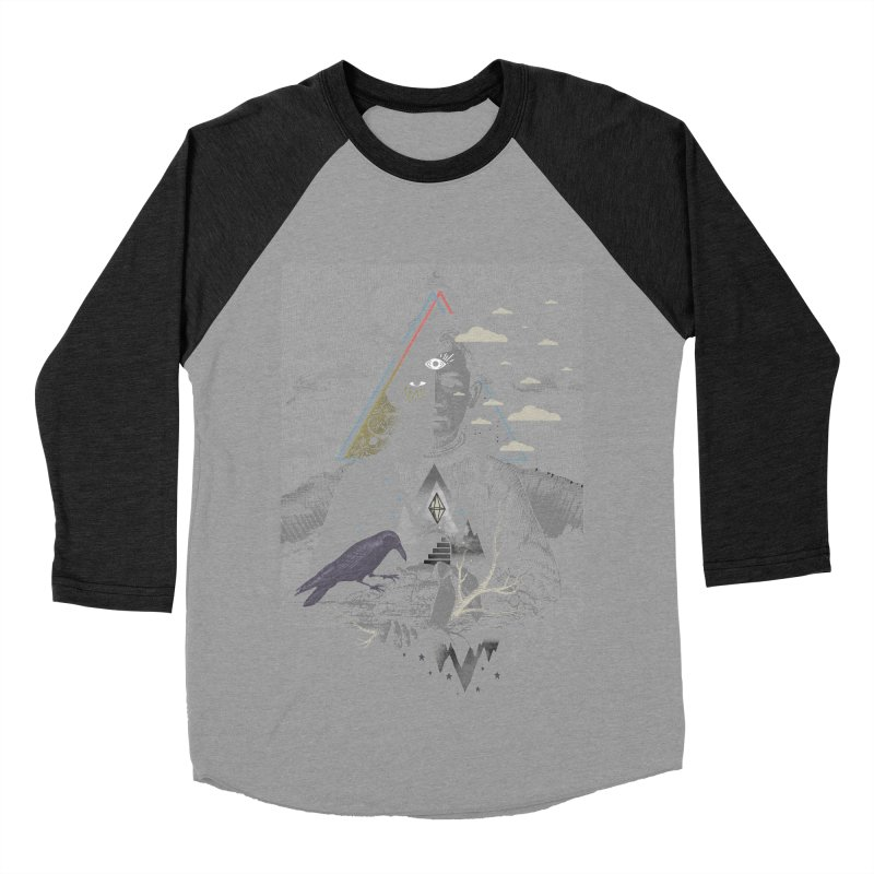 Exile Men's Baseball Triblend Longsleeve T-Shirt by ordinary fox