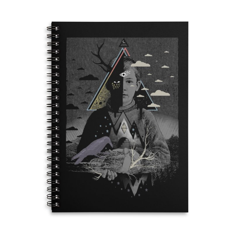 Exile Accessories Lined Spiral Notebook by ordinary fox