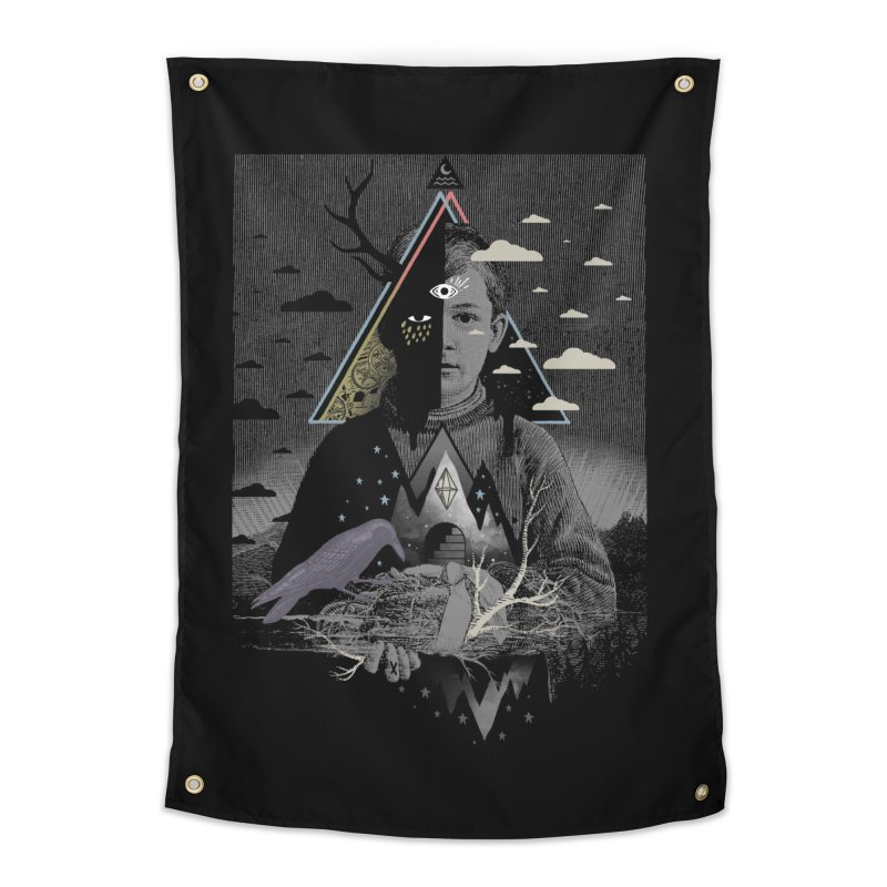 Exile Home Tapestry by ordinary fox