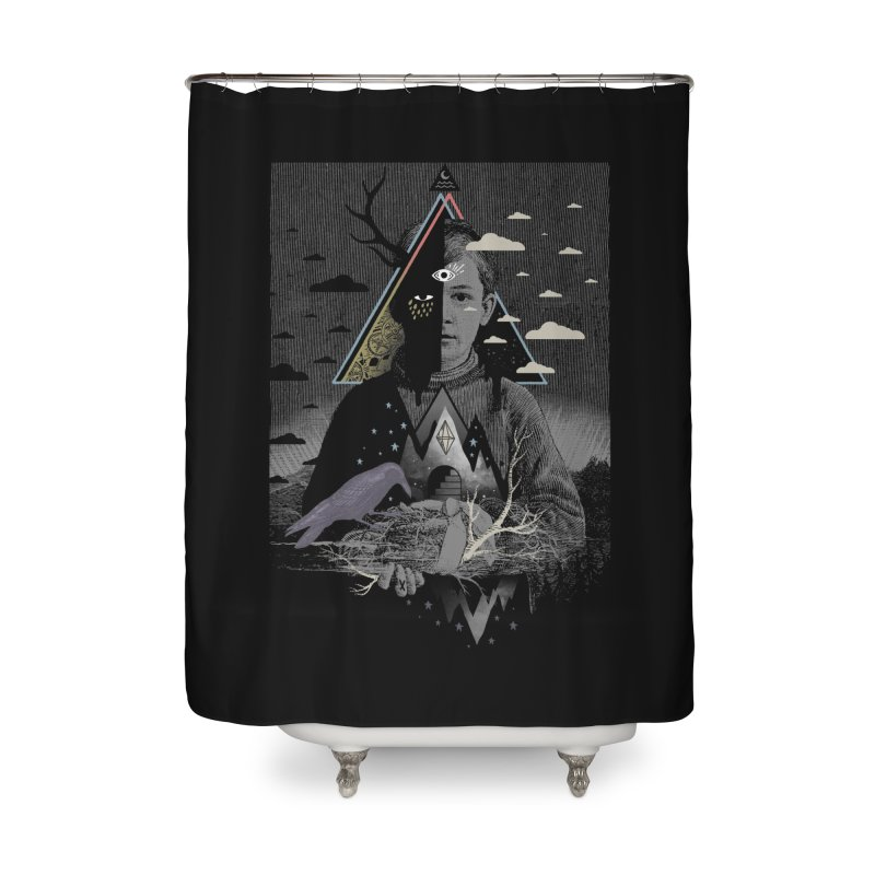 Exile Home Shower Curtain by ordinary fox