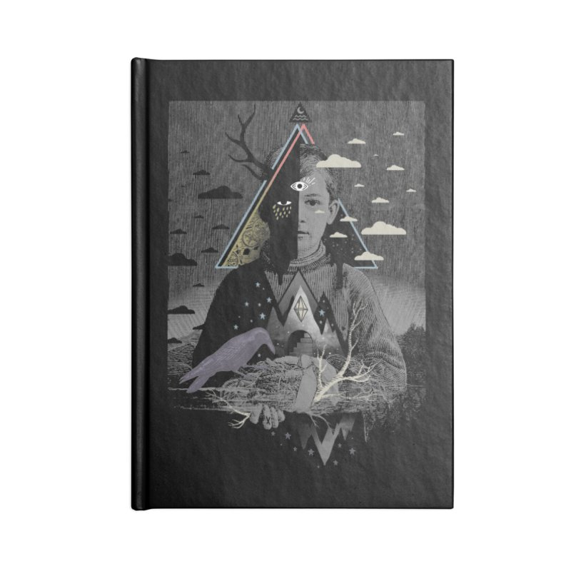 Exile Accessories Blank Journal Notebook by ordinary fox