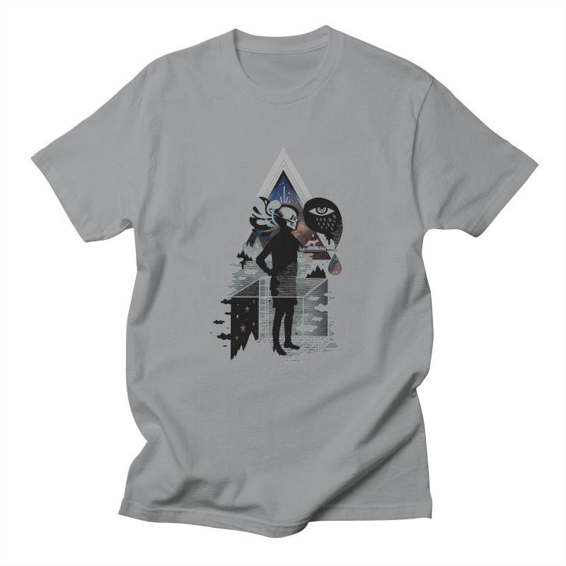 Ghosts Women's Regular Unisex T-Shirt by ordinary fox