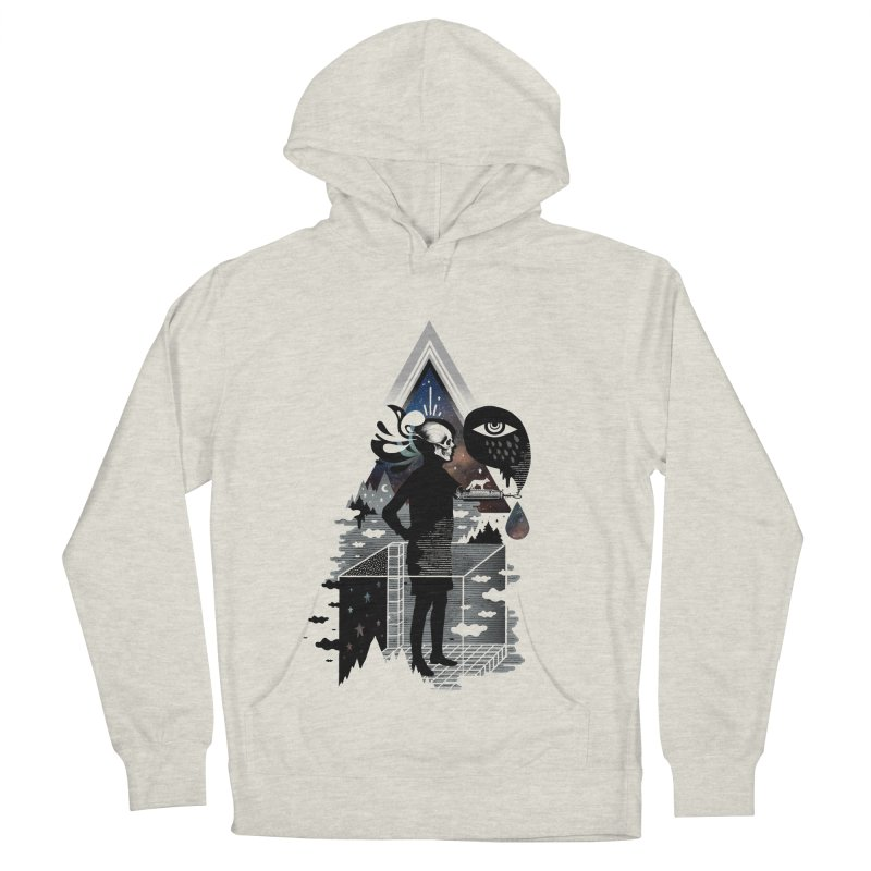 Ghosts Men's French Terry Pullover Hoody by ordinary fox