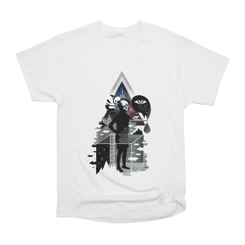 Ghosts Men's Heavyweight T-Shirt by ordinary fox