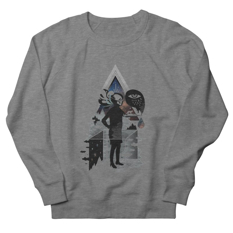 Ghosts Women's French Terry Sweatshirt by ordinary fox