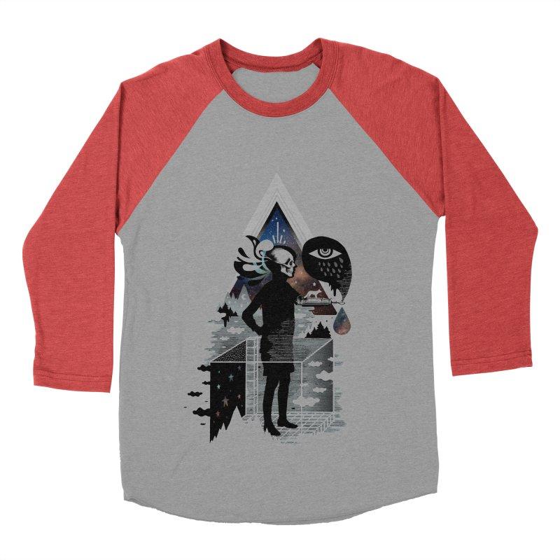 Ghosts Women's Baseball Triblend Longsleeve T-Shirt by ordinary fox
