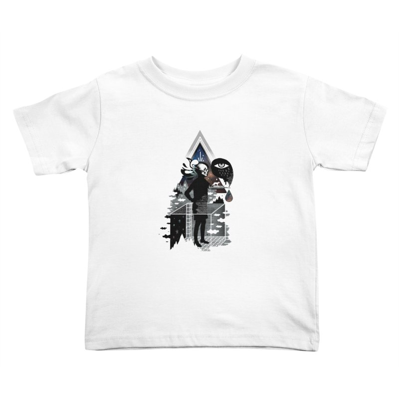 Ghosts Kids Toddler T-Shirt by ordinary fox