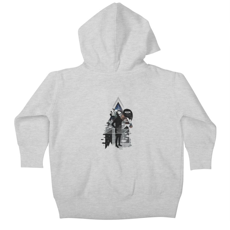 Ghosts Kids Baby Zip-Up Hoody by ordinary fox