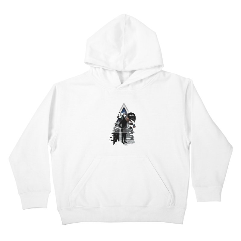 Ghosts Kids Pullover Hoody by ordinary fox