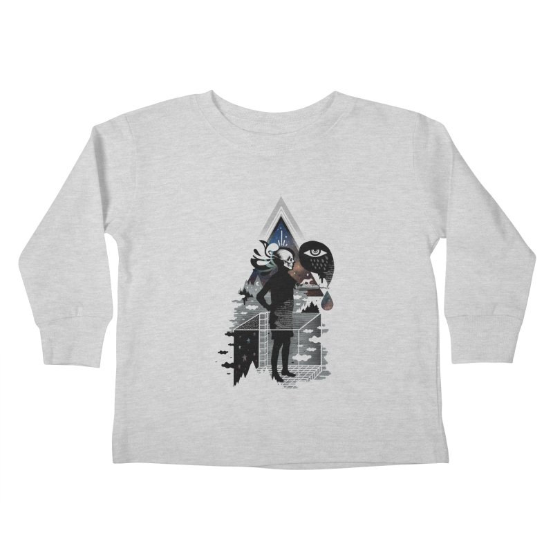 Ghosts Kids Toddler Longsleeve T-Shirt by ordinary fox