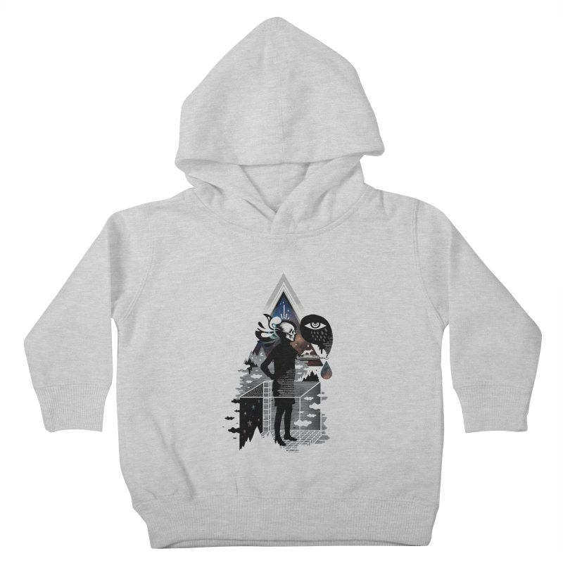 Ghosts Kids Toddler Pullover Hoody by ordinary fox