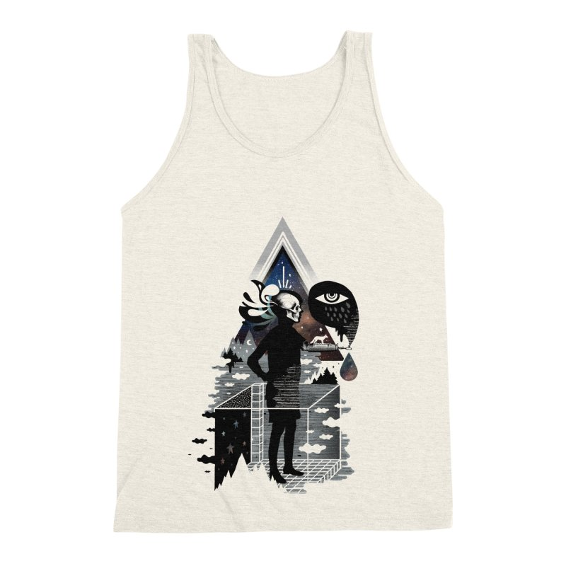 Ghosts Men's Triblend Tank by ordinary fox