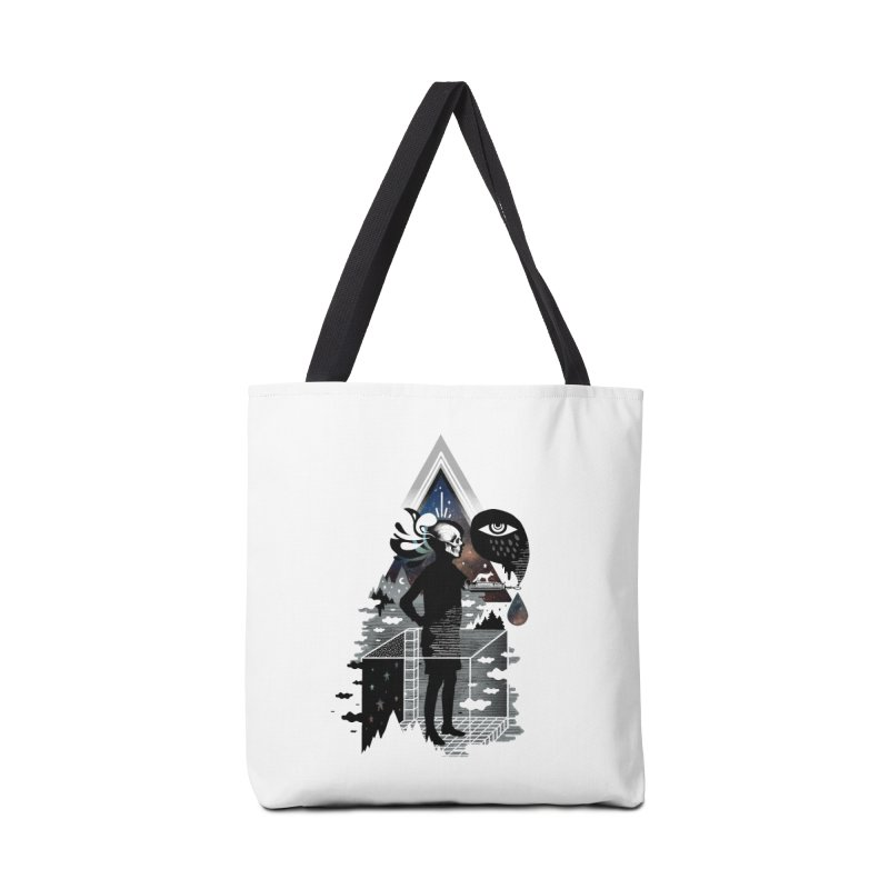 Ghosts Accessories Tote Bag Bag by ordinary fox