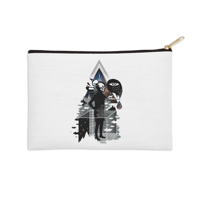 Ghosts Accessories Zip Pouch by ordinary fox