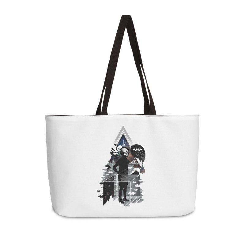 Ghosts Accessories Weekender Bag Bag by ordinary fox