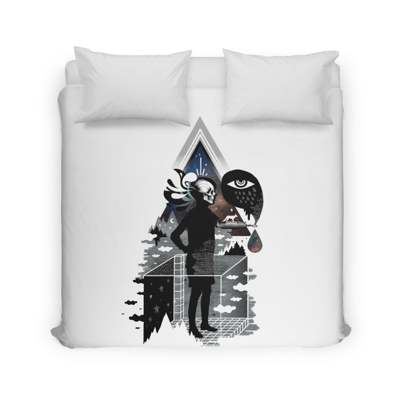 Ghosts Home Duvet by ordinary fox