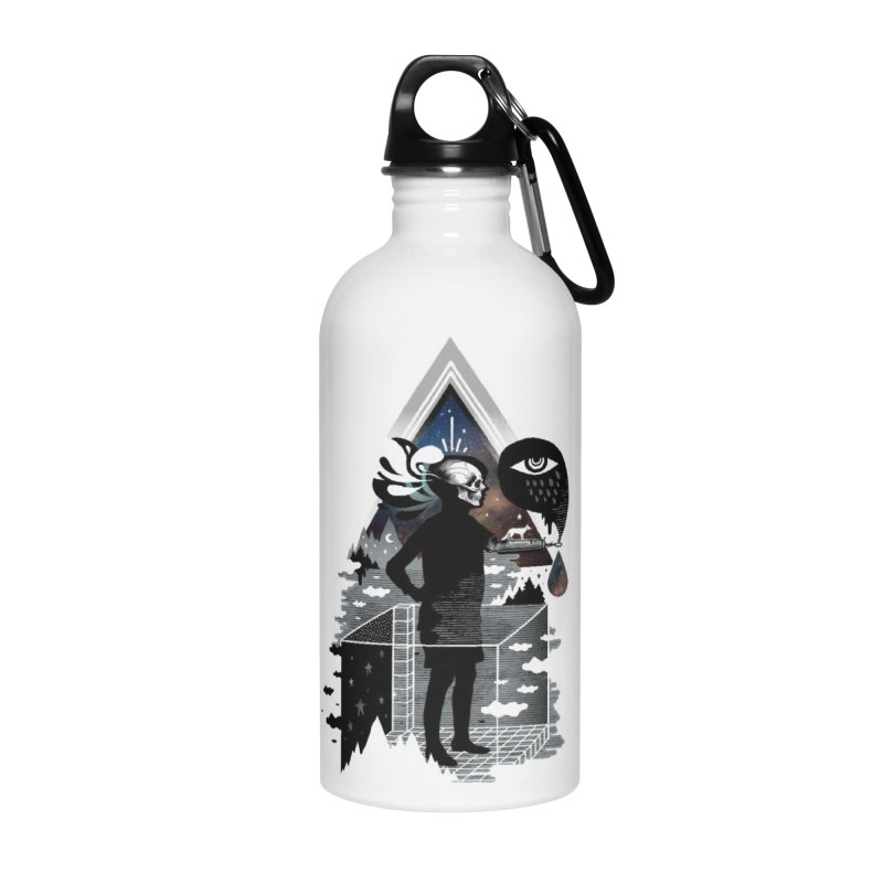 Ghosts Accessories Water Bottle by ordinary fox