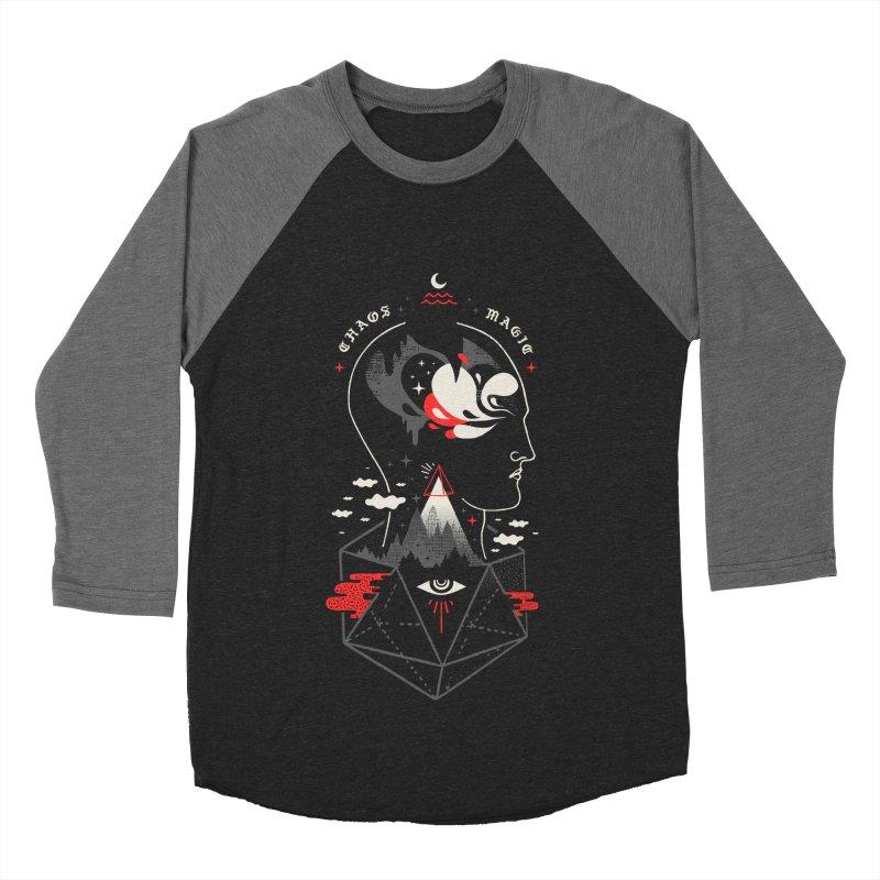 Chaos Magic Men's Baseball Triblend Longsleeve T-Shirt by ordinary fox