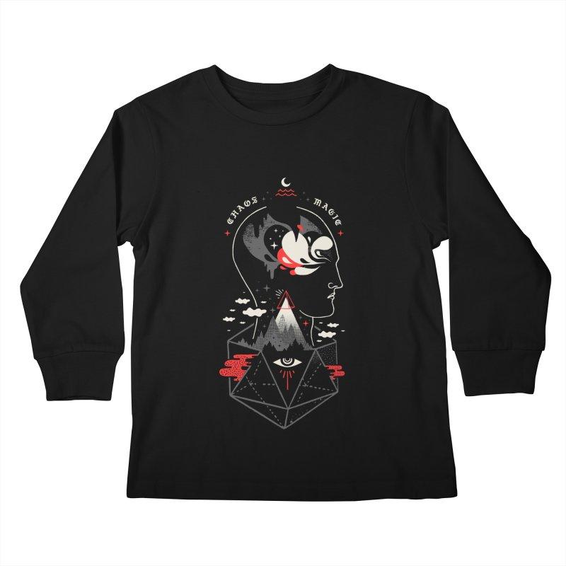 Chaos Magic Kids Longsleeve T-Shirt by ordinary fox