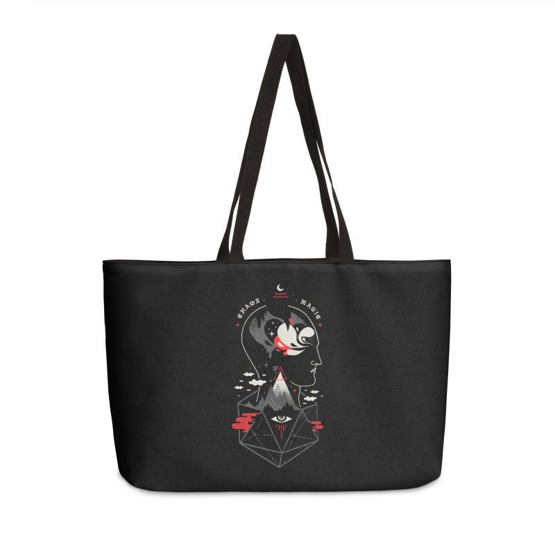 Chaos Magic Accessories Weekender Bag Bag by ordinary fox