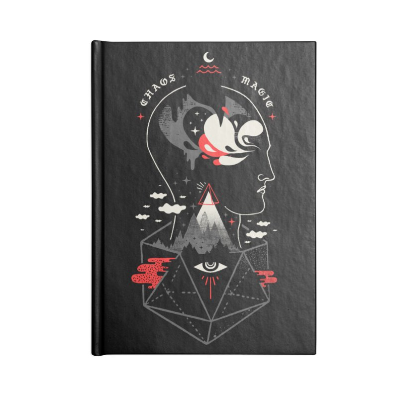 Chaos Magic Accessories Lined Journal Notebook by ordinary fox