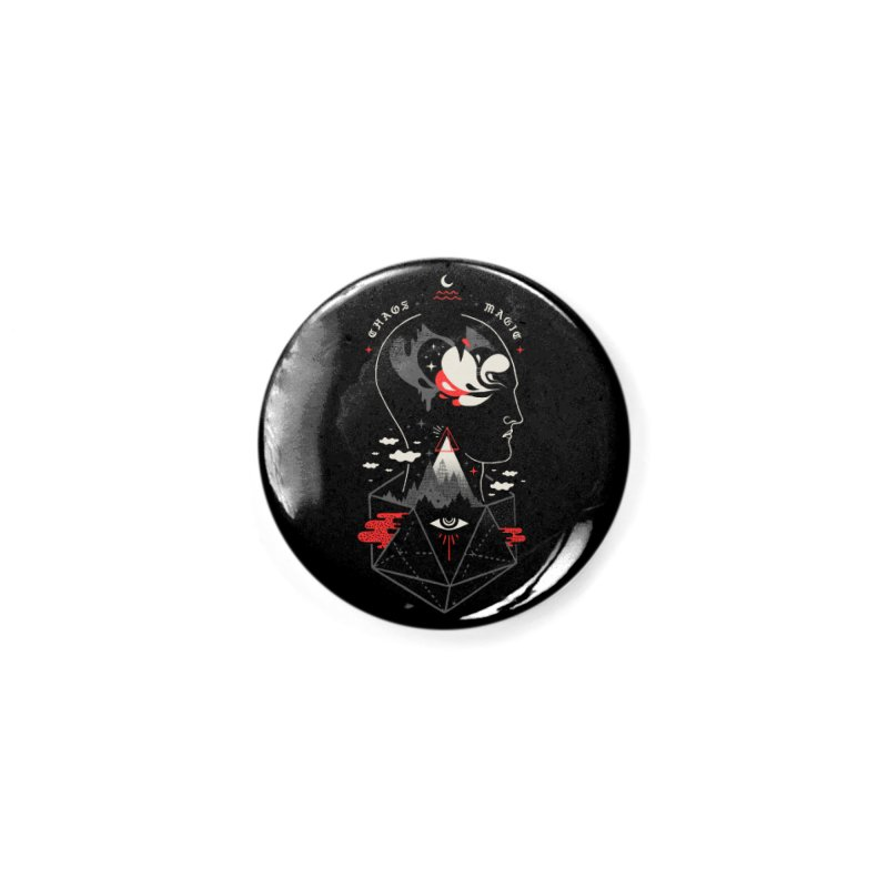Chaos Magic Accessories Button by ordinary fox