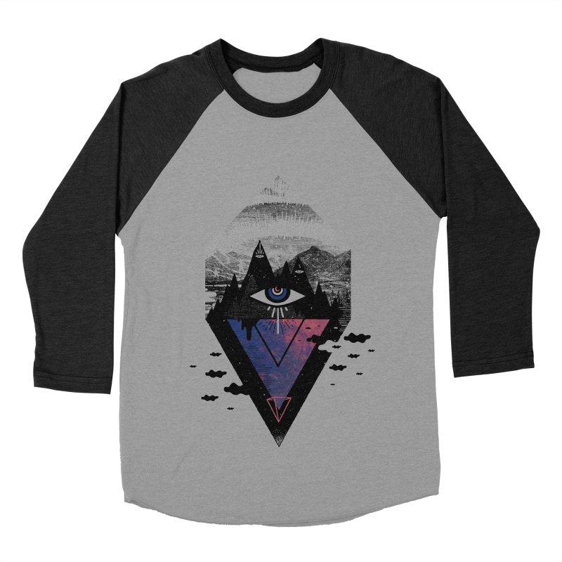 Secret Soul Men's Baseball Triblend Longsleeve T-Shirt by ordinary fox