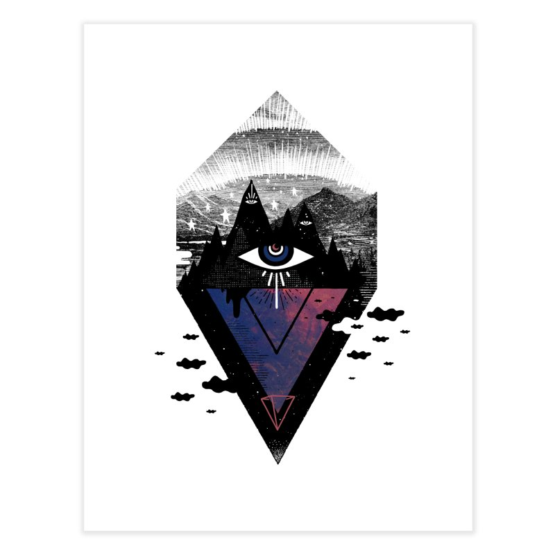 Secret Soul Home Fine Art Print by ordinaryfox