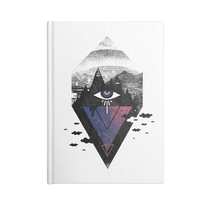 Secret Soul Accessories Blank Journal Notebook by ordinary fox