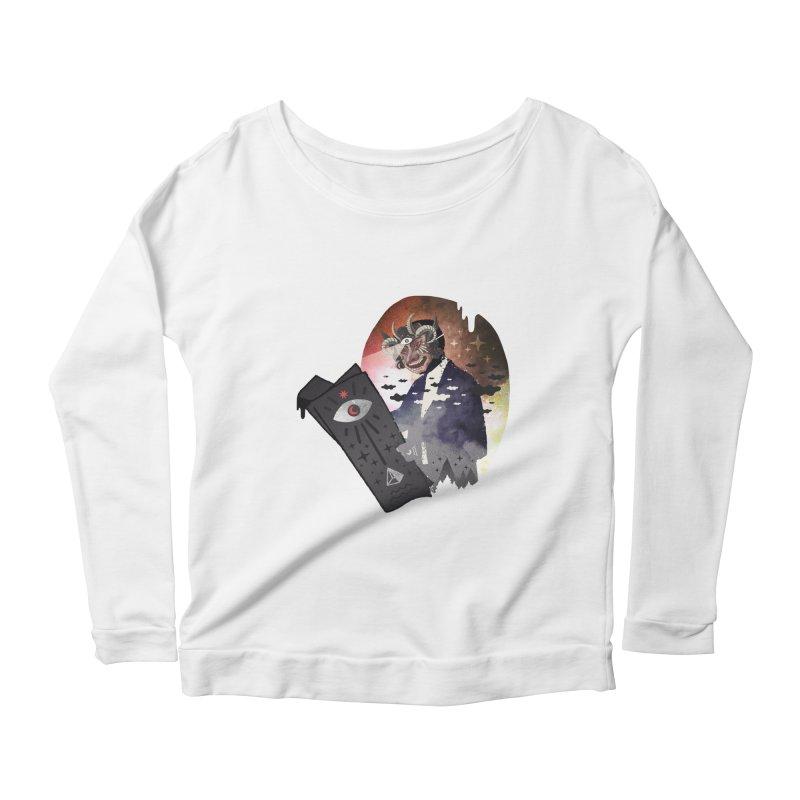 Ancient Trade Women's Scoop Neck Longsleeve T-Shirt by ordinary fox