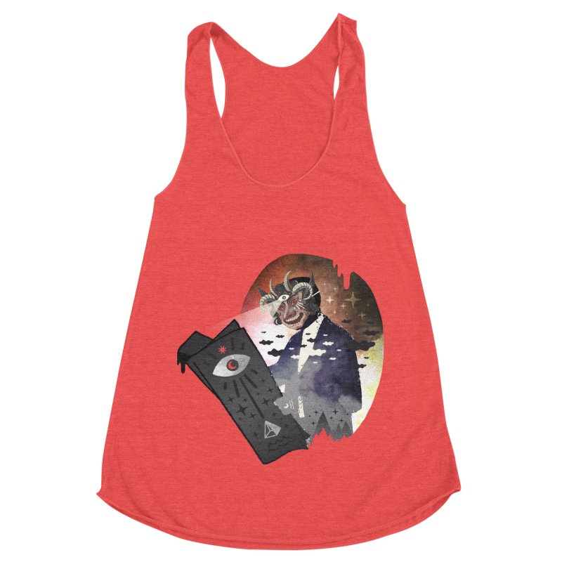 Ancient Trade Women's Racerback Triblend Tank by ordinary fox
