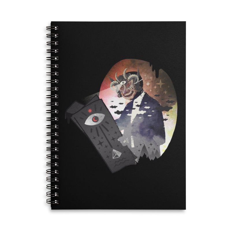 Ancient Trade Accessories Lined Spiral Notebook by ordinary fox