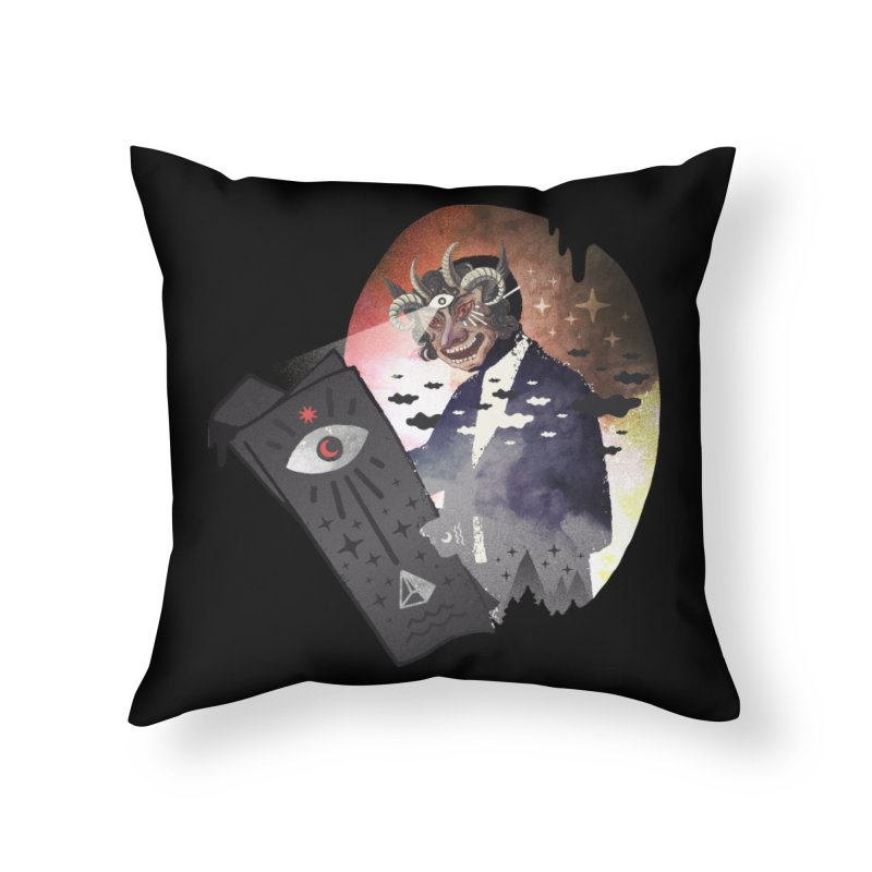 Ancient Trade Home Throw Pillow by ordinary fox