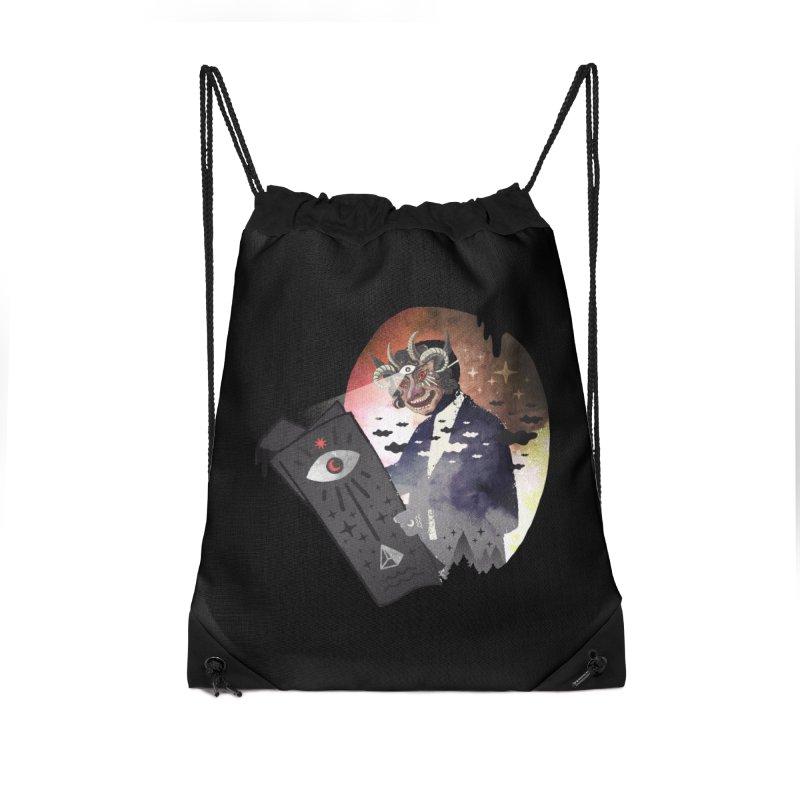 Ancient Trade Accessories Drawstring Bag Bag by ordinary fox
