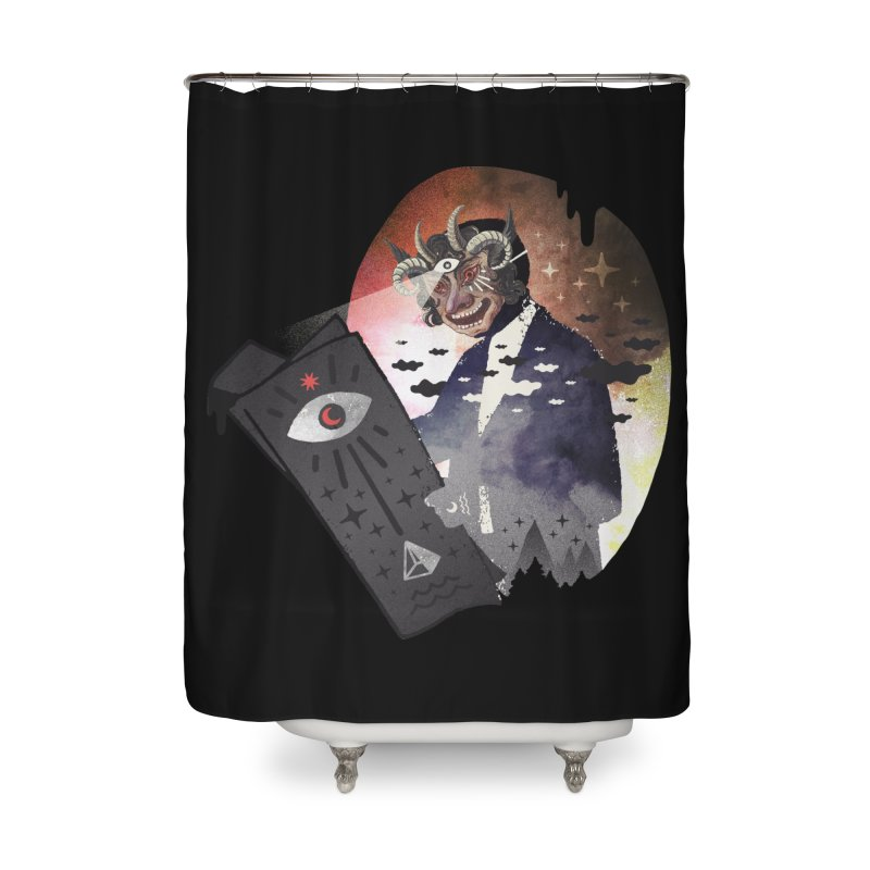 Ancient Trade Home Shower Curtain by ordinary fox
