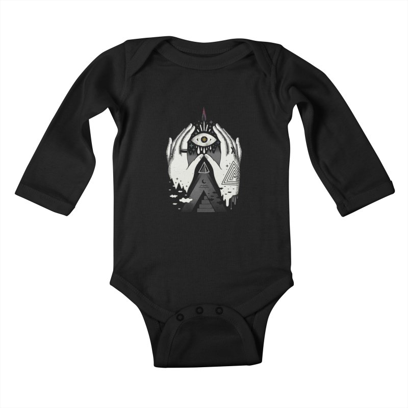 Summoner Kids Baby Longsleeve Bodysuit by