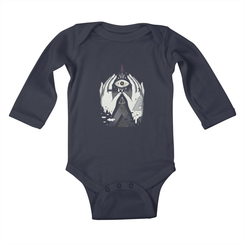 Summoner Kids Baby Longsleeve Bodysuit by ordinary fox