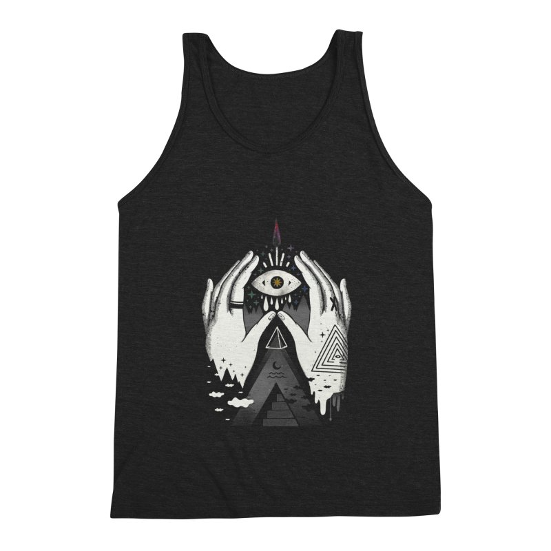 Summoner Men's Triblend Tank by ordinary fox