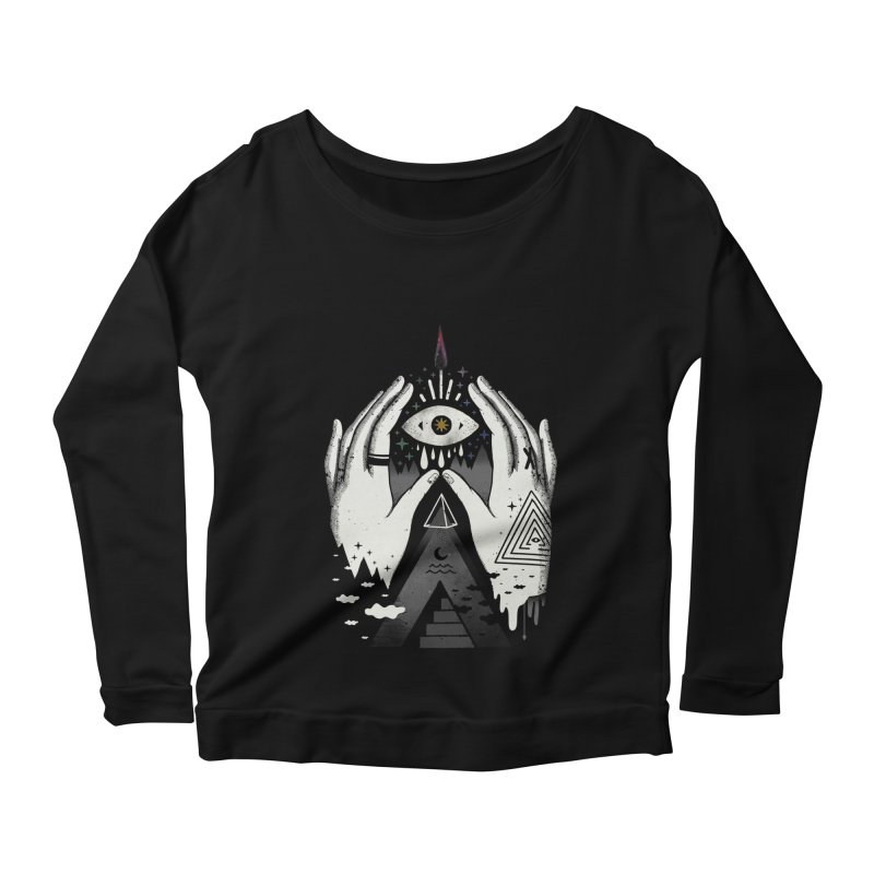 Summoner Women's Scoop Neck Longsleeve T-Shirt by ordinary fox