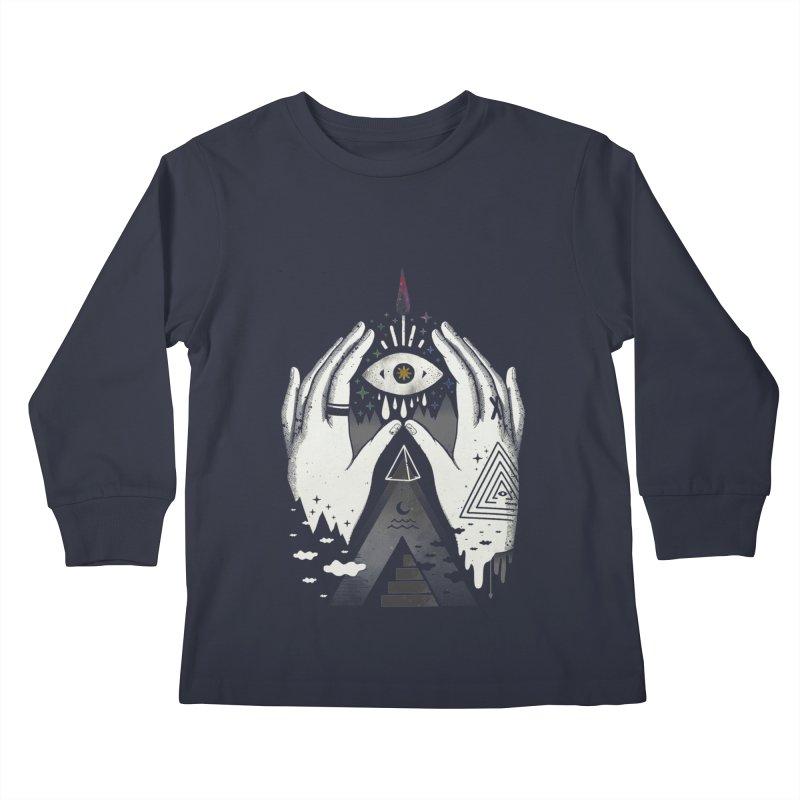 Summoner Kids Longsleeve T-Shirt by ordinary fox