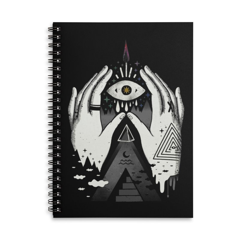 Summoner Accessories Lined Spiral Notebook by ordinary fox