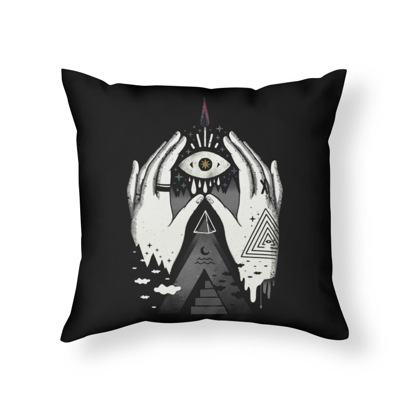 Summoner Home Throw Pillow by ordinary fox
