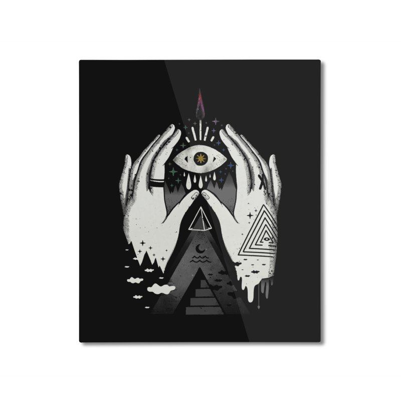Summoner Home Mounted Aluminum Print by ordinary fox