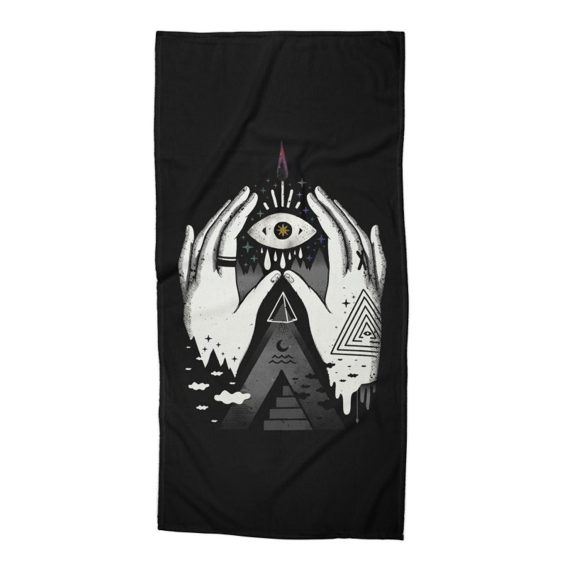 Summoner Accessories Beach Towel by ordinary fox