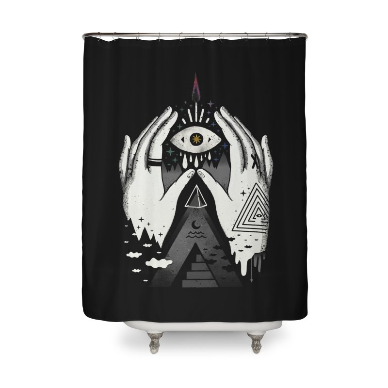 Summoner Home Shower Curtain by ordinary fox