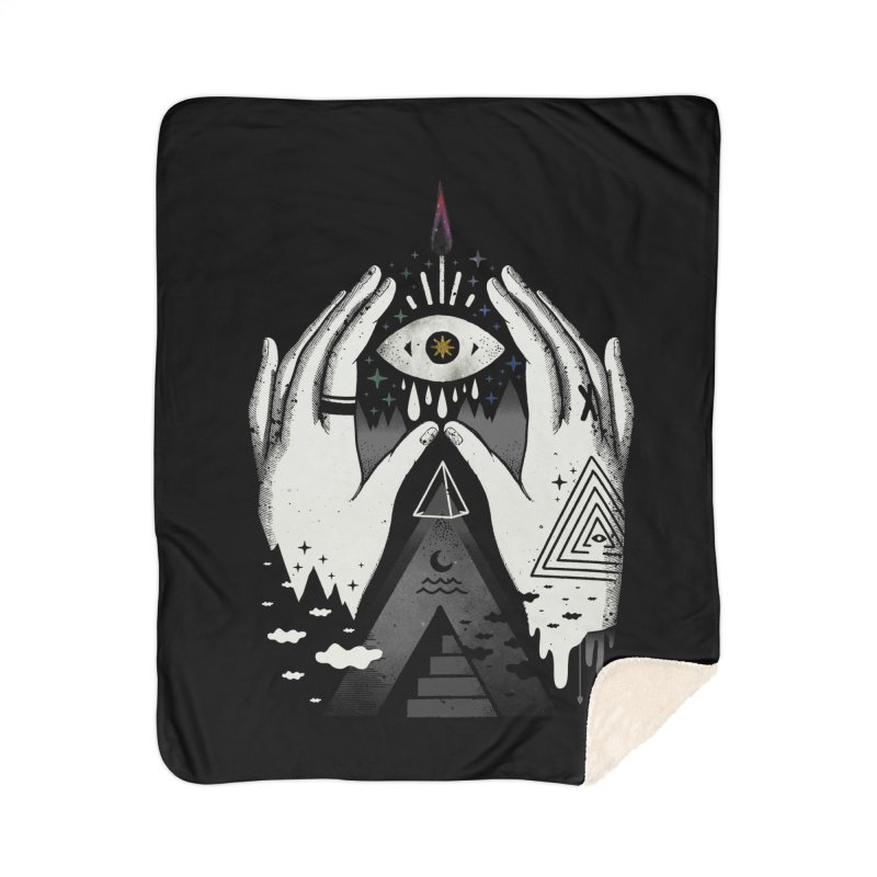 Summoner Home Sherpa Blanket Blanket by ordinary fox