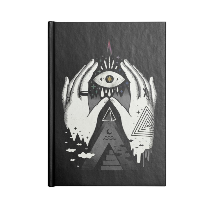 Summoner Accessories Lined Journal Notebook by ordinary fox