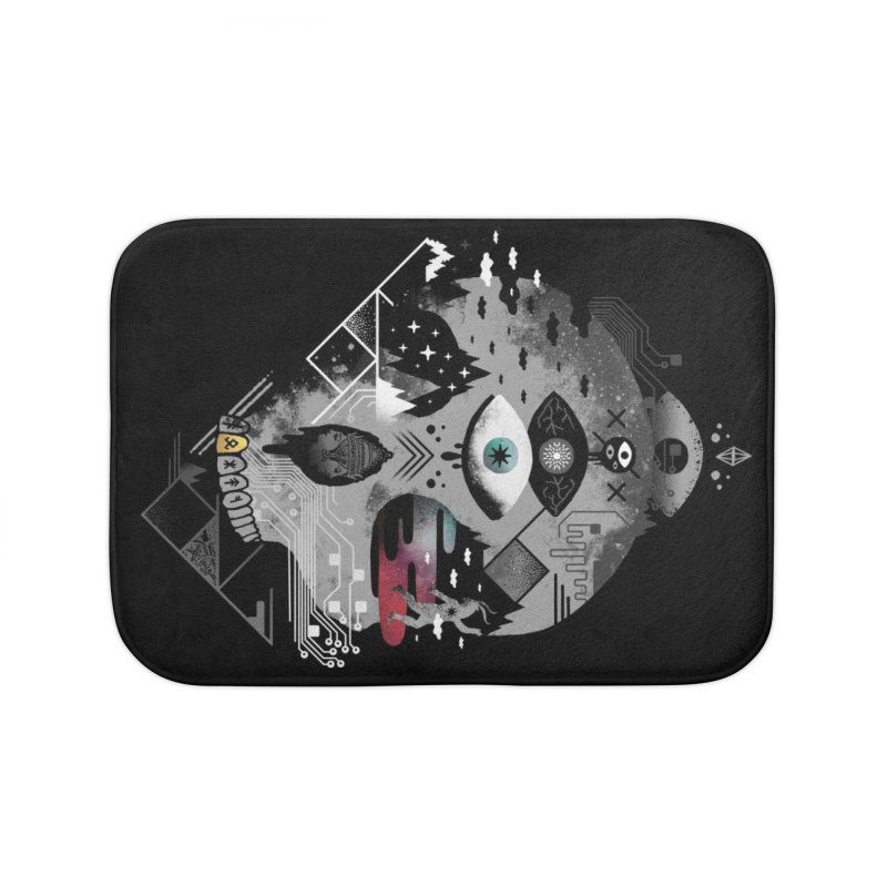 Old Gods, New Demons Home Bath Mat by ordinary fox